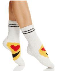 Pj Salvage - Emoji Socks - Lyst
