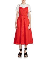 Maje - Rimana Two-piece Midi Dress - Lyst