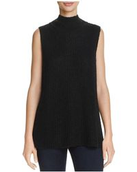French Connection - Mathilde Knits Ribbed Sweater Vest - Lyst