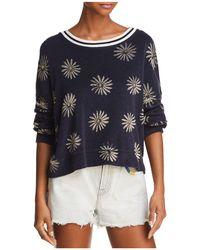 Splendid - X Margherita Daisy Print Terry Sweatshirt - Lyst