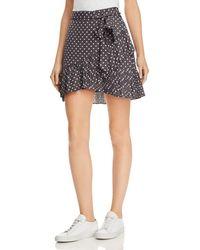 Bardot - Spotty Pleated Polka Dot Mini Skirt - Lyst