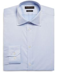 Bloomingdale's - Basic Twill Regular Fit Dress Shirt - Lyst