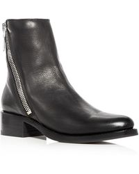 Frye - Women's Demi Leather Block Heel Booties - Lyst