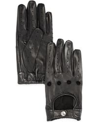 Bloomingdale's - Tech Perforated Driving Gloves - Lyst