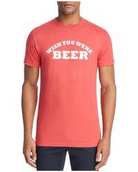 Sub_Urban Riot - Wish You Were Beer Crewneck Tee - Lyst