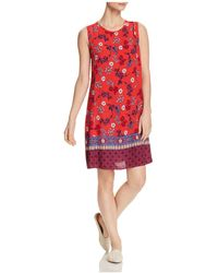 Beach Lunch Lounge - Printed Shift Dress - Lyst