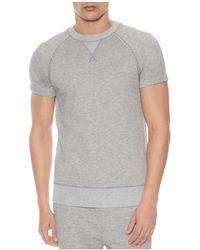 2xist - Terry Short Sleeve Sweatshirt - Lyst