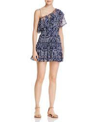 MISA - Ezri One-shoulder Dress - Lyst