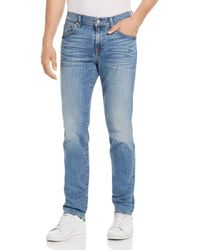 7 For All Mankind - Paxtyn Skinny Fit Jeans In Valhalla - Lyst