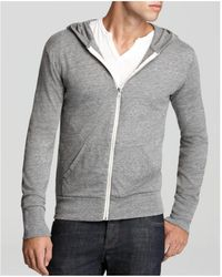 Alternative Apparel - Heathered Zip Hoodie - Lyst