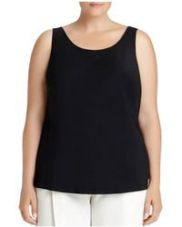 Lafayette 148 New York - Bias-cut Silk Tank - Lyst