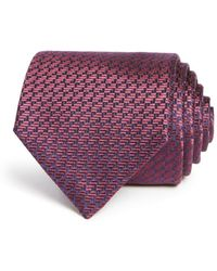 Emporio Armani - Patterned Classic Tie - Lyst
