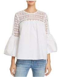Endless Rose - Louvre Lace-inset Top - Lyst