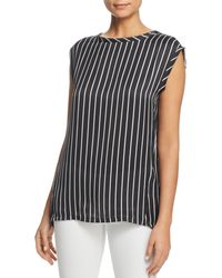 Kenneth Cole - Sleeveless Circle Blouse - Lyst
