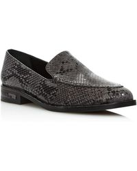 c43d2a56b05 Lyst - Frēda Salvador Chance Tassel Loafers in Black