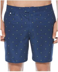 Original Penguin - Polka Dot Lemon Swim Trunks - Lyst