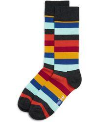 Happy Socks | Striped Socks | Lyst