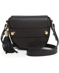 MILLY - Astor Small Saddle Crossbody - Lyst