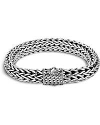 John Hardy - Men's Sterling Silver Large Chain Bracelet - Lyst