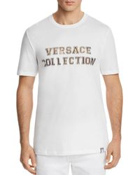 Versace - Versace Logo Crewneck Tee - Lyst