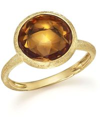 Marco Bicego | 18k Yellow Gold Jaipur Ring With Citrine | Lyst
