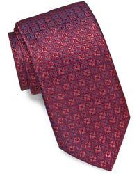John Varvatos - Tonal Neat Classic Tie - Lyst