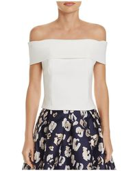 Eliza J - Off-the-shoulder Top - Lyst