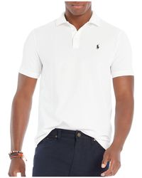 Polo Ralph Lauren | Stretch Mesh Classic Fit Polo Shirt | Lyst