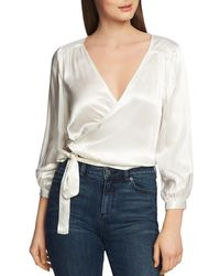8a70ce25fa325 BCBGeneration Boxy Crop Top in White - Lyst