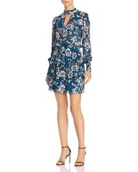 Parker - Robyn Smocked Floral Dress - Lyst