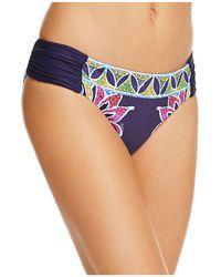 Trina Turk - Lotus Batik Reversible Bikini Bottom - Lyst