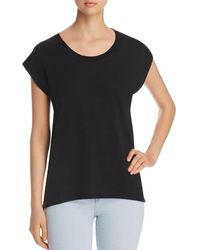 Lyssé - Cap-sleeve High/low Tee - Lyst