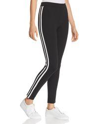Aqua - Track Stripe Leggings - Lyst