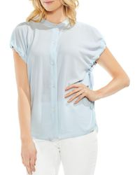 Vince Camuto - Drawstring-sleeve Top - Lyst