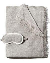 Portolano - Eye Mask & Cashmere Wrap Travel Gift Set - Lyst