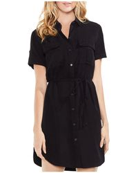 Vince Camuto - Utility Shirt Dress - Lyst