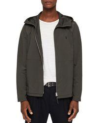 AllSaints - Darley Hooded Zip Jacket - Lyst