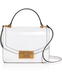 Tory Burch - Juliette Patent Leather Crossbody - Lyst