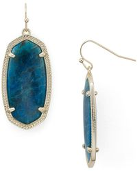 Kendra Scott | Signature Elle Earrings | Lyst