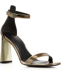 Via Spiga - Women's Faxon Ankle Strap High-heel Sandals - Lyst