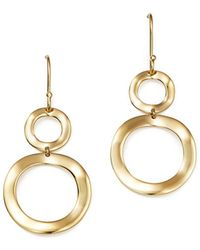 Ippolita - 18k Gold Snowman Earrings - Lyst