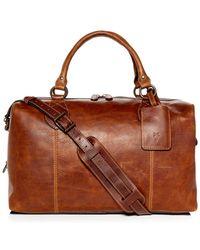 Frye - Logan Overnight Leather Duffel - Lyst