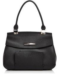 Longchamp - Madeleine Leather Shoulder Bag - Lyst