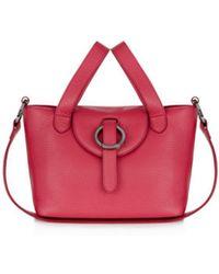 meli melo - Thela Rose Mini Leather Satchel - Lyst