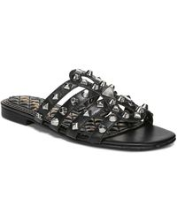 adb2f2ea53e1ff Sam Edelman - Women s Beatris Studded Slide Sandals - Lyst