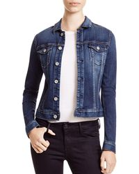 AG Jeans - Jacket - Robyn Denim In Torrent - Lyst