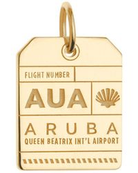 Jet Set Candy | Aua Aruba Luggage Tag Charm | Lyst