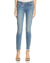 PAIGE - Verdugo Ankle Jeans In Sienna - Lyst