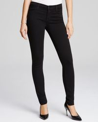 J Brand - 620 Skinny Jeans In Seriously Black - Lyst