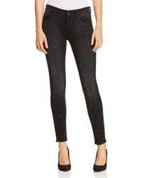 DL1961 - Emma Embellished Skinny Jeans In Kershaw - Lyst
